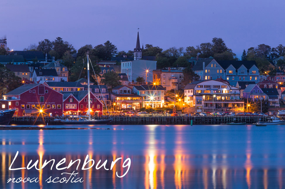 Lunenburg Harbour - Nova Scotia