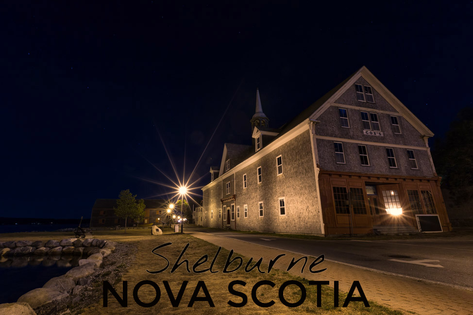 Shelburne Night - Nova Scotia