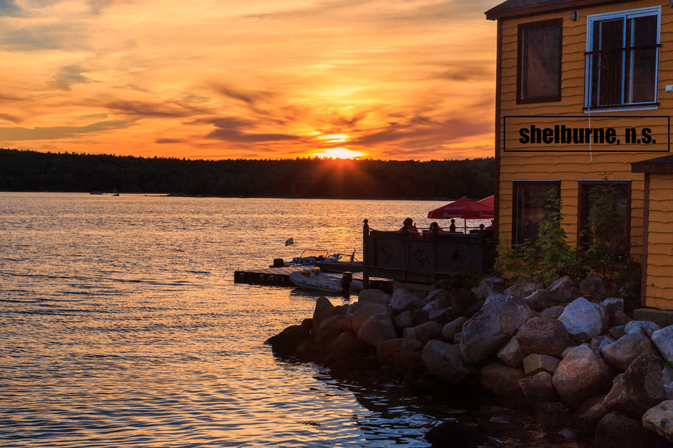 Shelburne Sunset - Nova Scotia