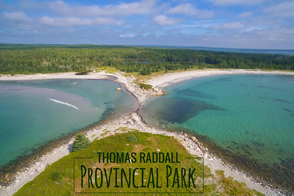 Thomas Raddall Provncial Park Aerial