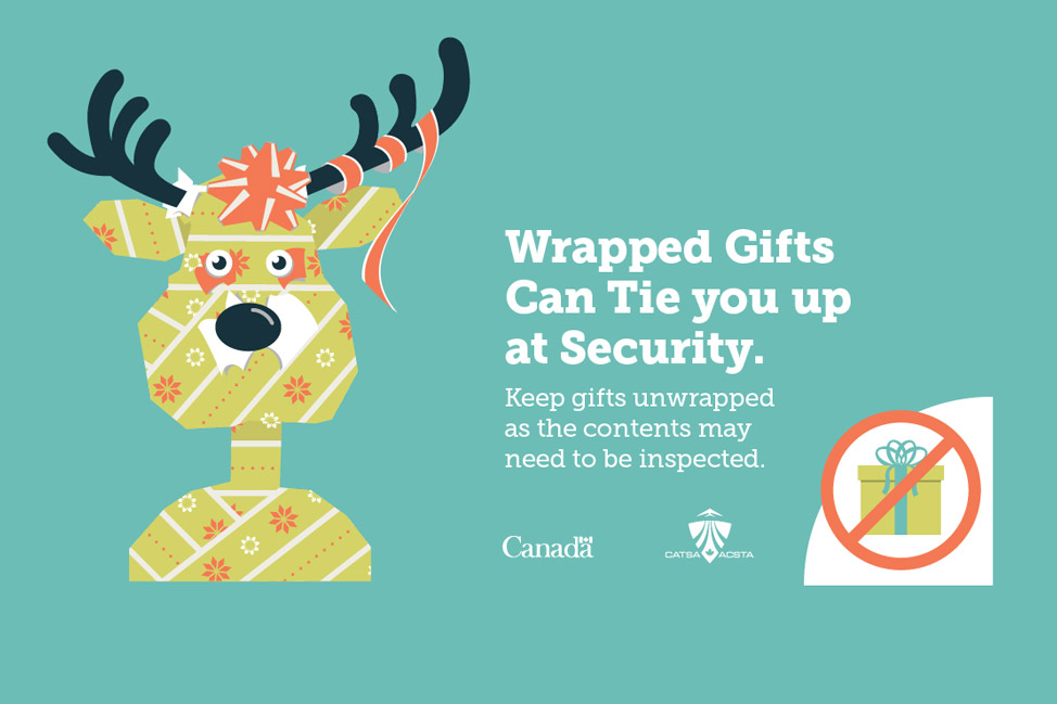 Wrapped Gifts Rule Airport Security