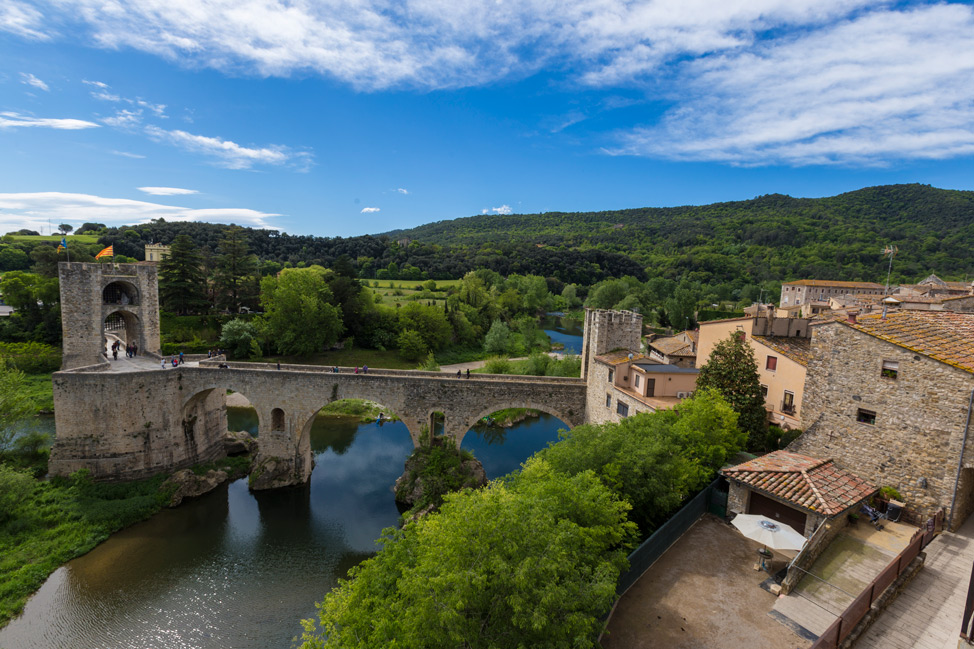 Besalu From Above