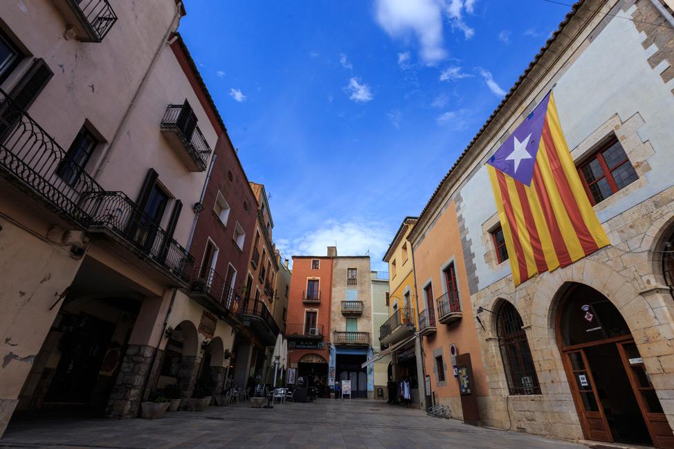 Castelló d'Empúries Plaza