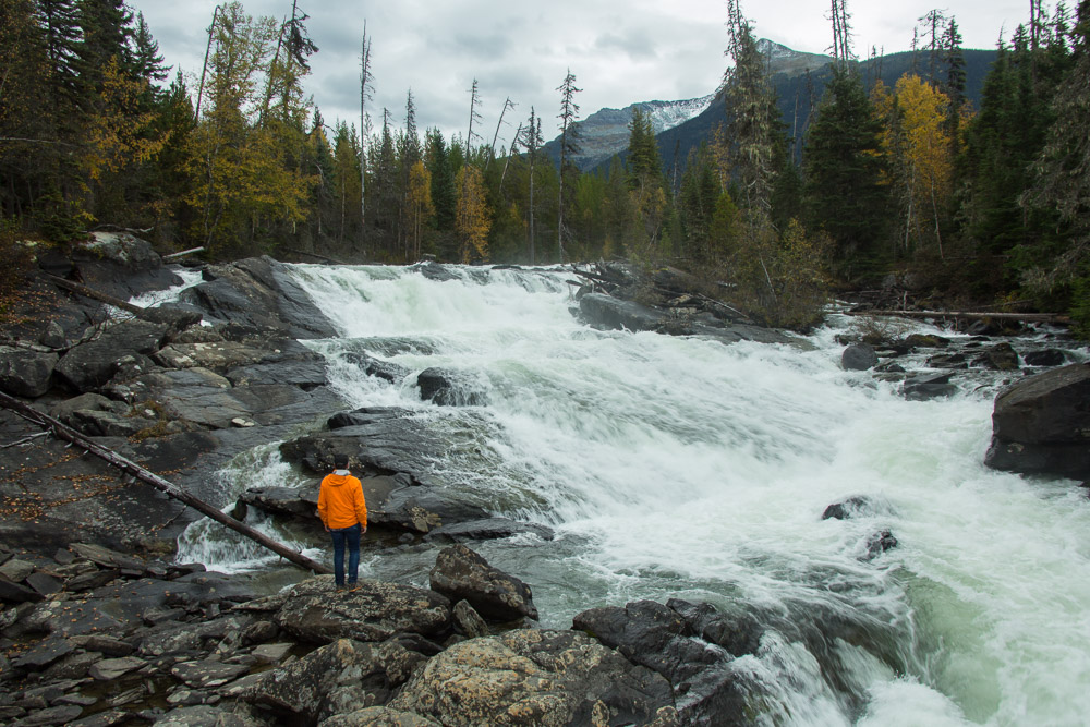 Ghost Falls - Cariboo Mountains BC
