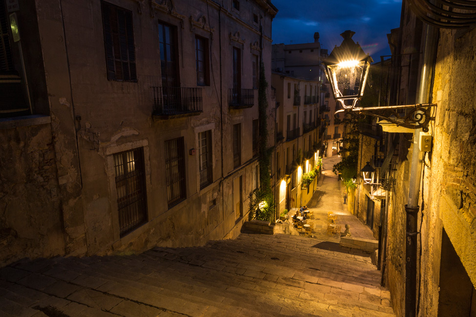 Girona Le Bistrot Steps