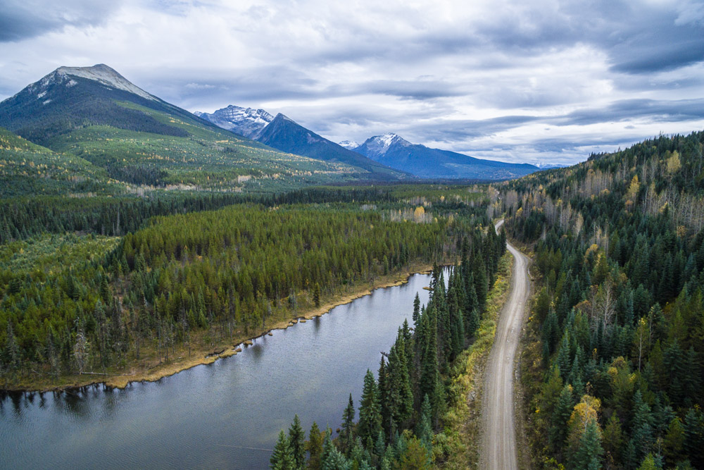 Those Cariboo Mountain Roads