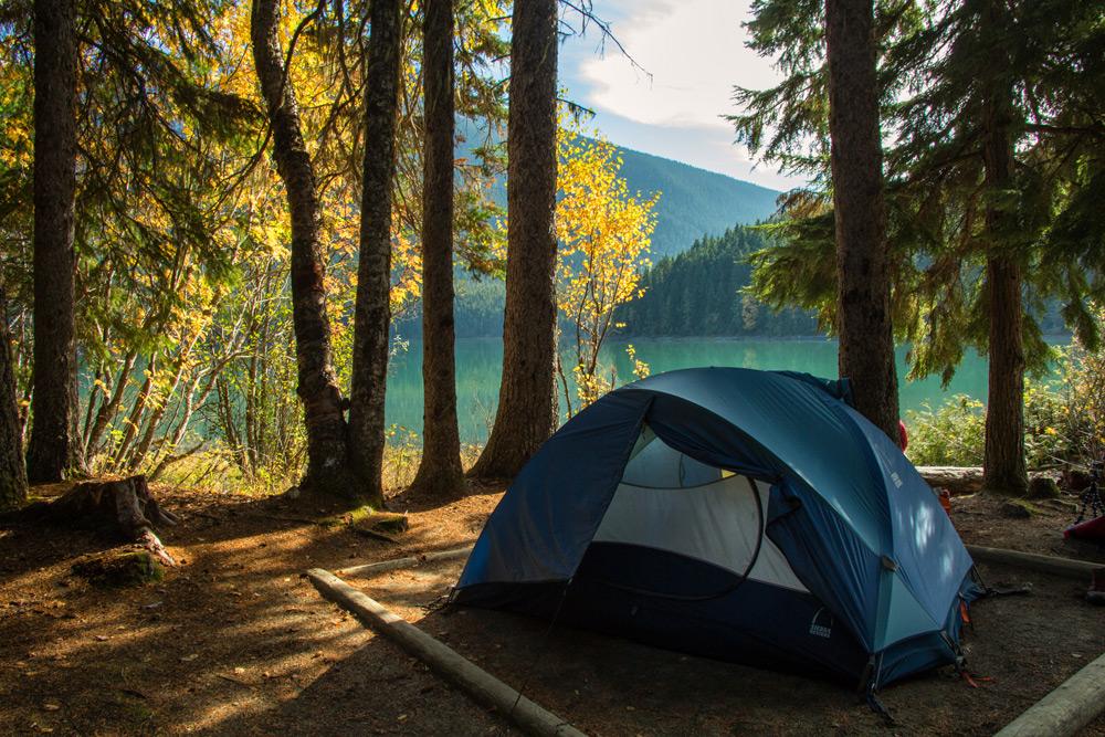 Bowron Circuit Camping