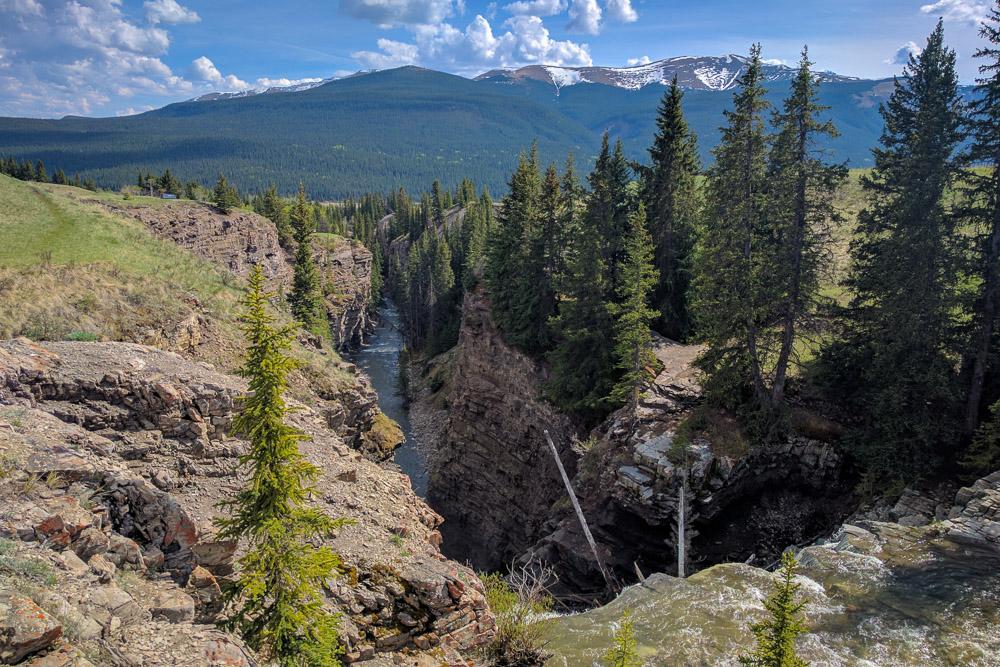 Big Horn Falls Gorge