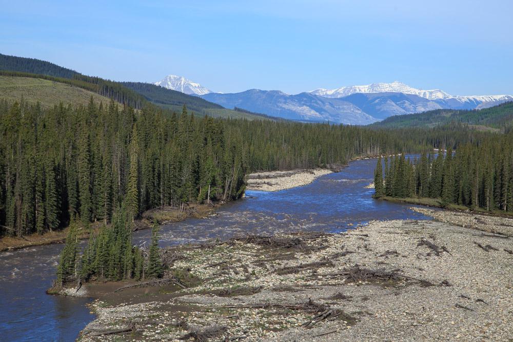 Red River River, Alberta