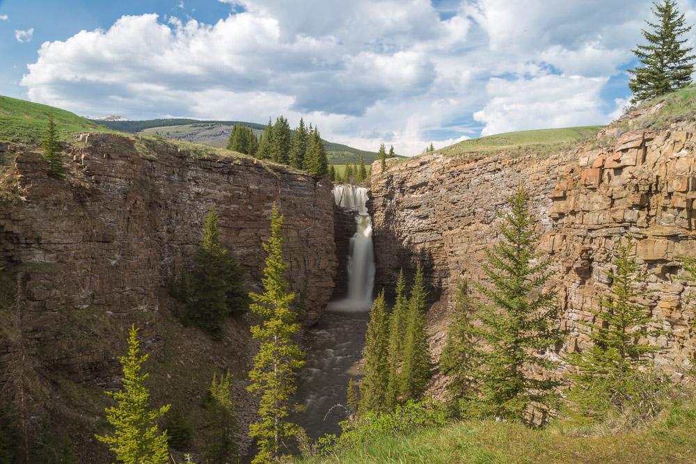 Big Horn Falls, Alberta