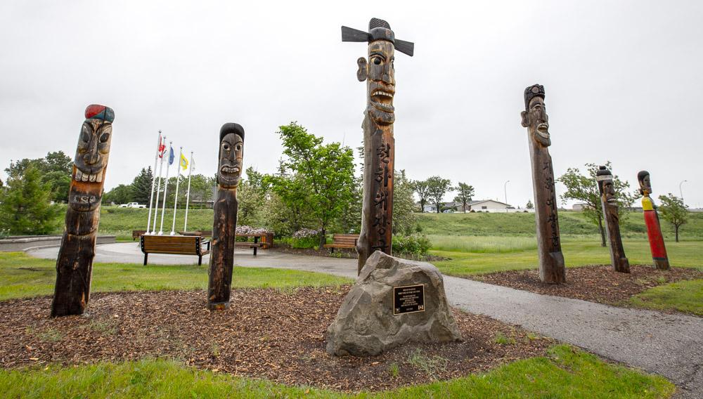 Korean-Totem-Poles