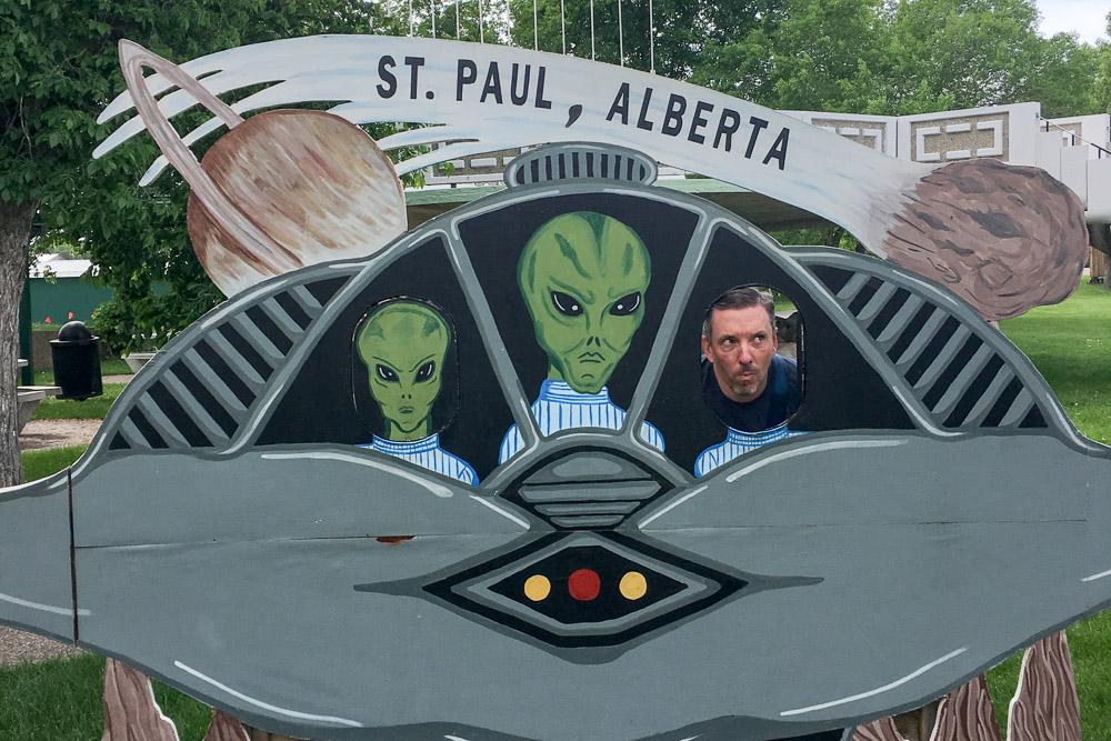 UFO-Landing-Pad-St-Paul-Alberta
