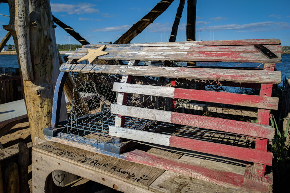 Acadia Lobster Trap