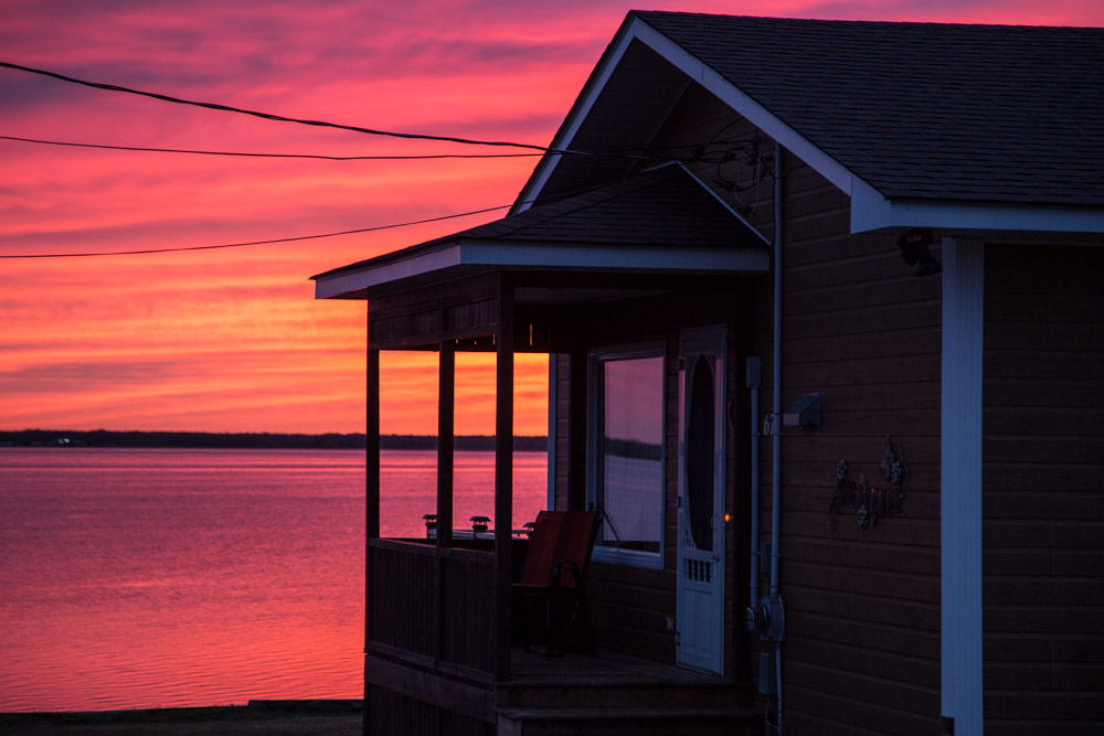 Sunset Shippagan