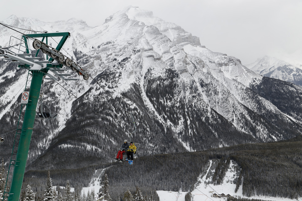 Mt-Norquary-Skiing-Banff-Alberta