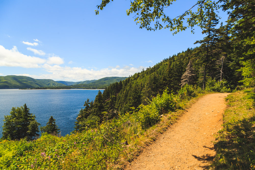 Middle Head Cape Breton Path