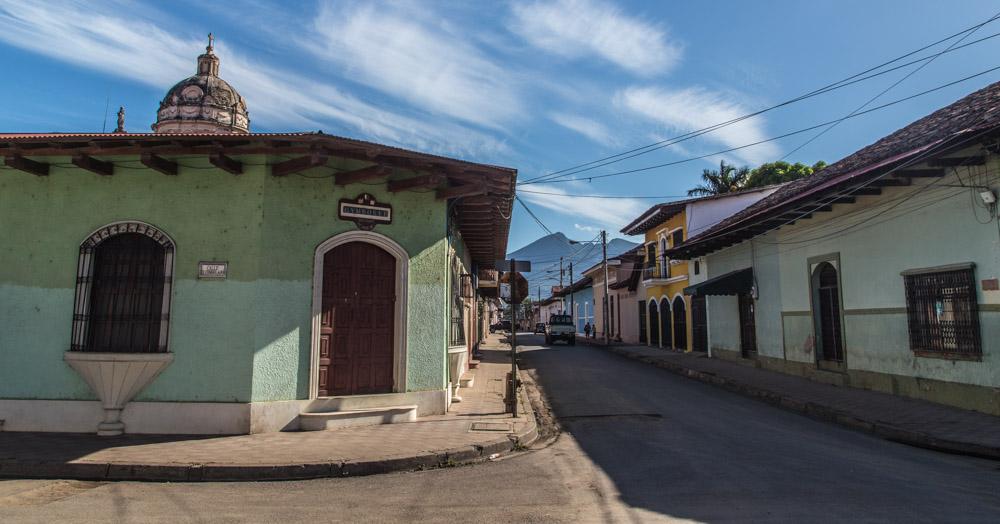 Granada Nicaragua Street Shot
