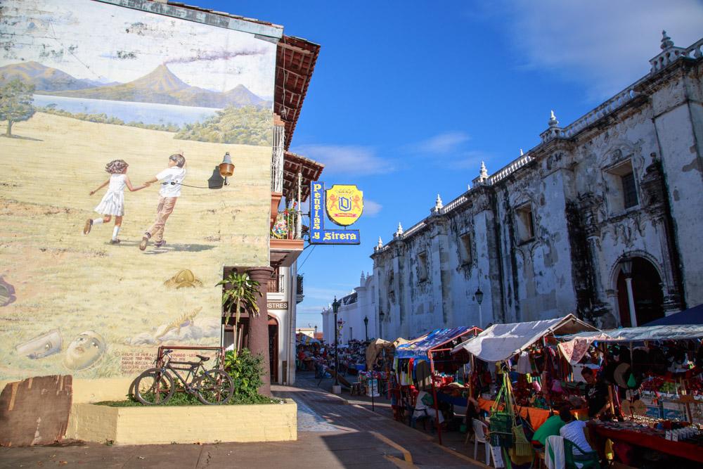 Leon, Nicaraguga Mural