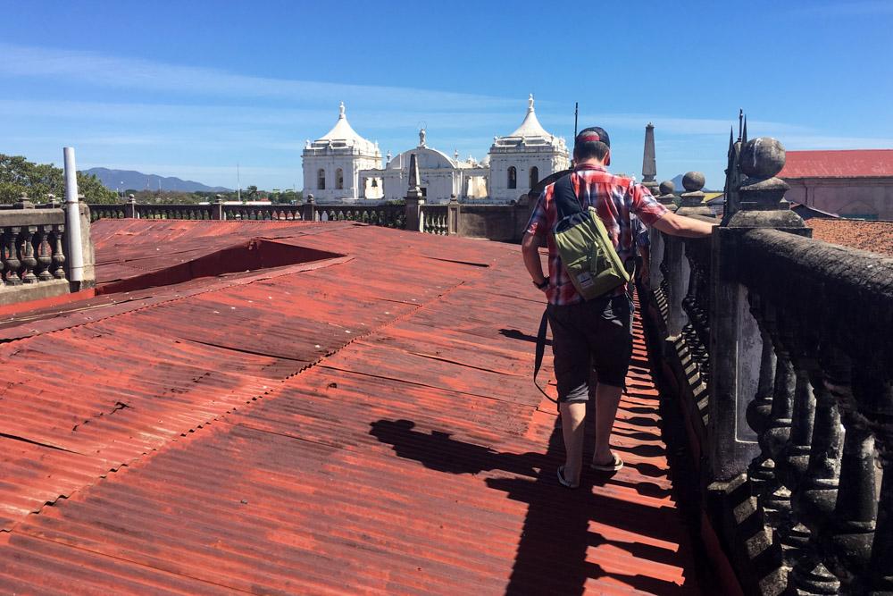 Museo de Revolucion Rooftop View
