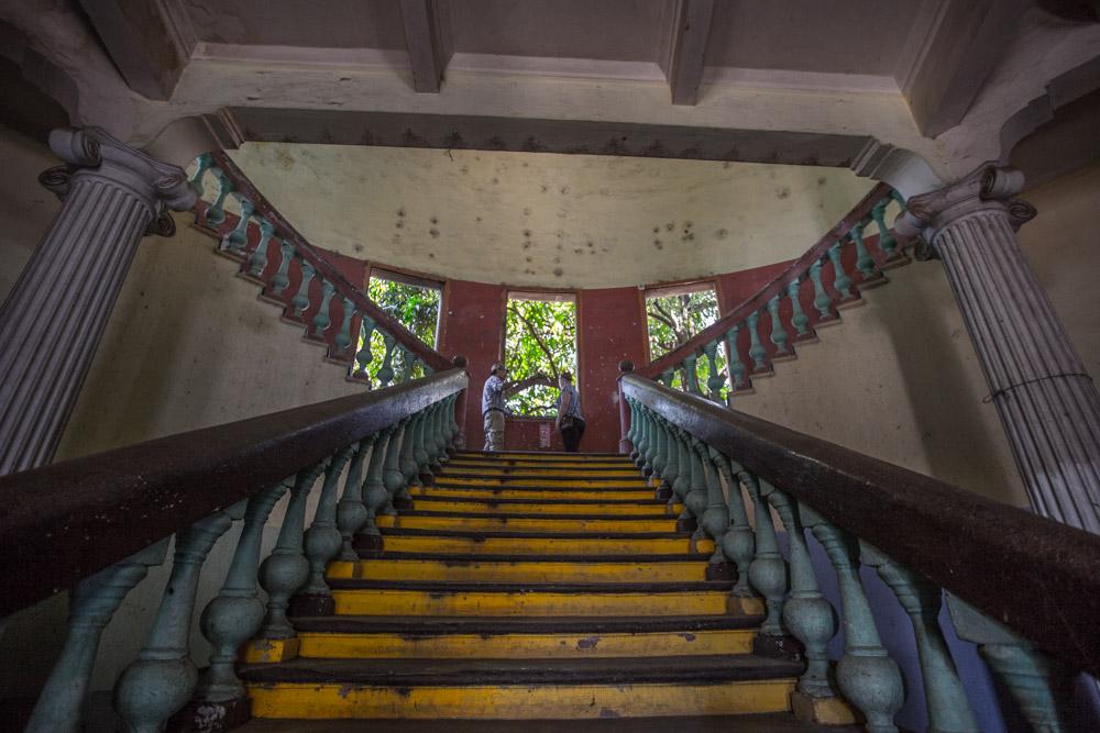 Museo de la Revolucion Staircase