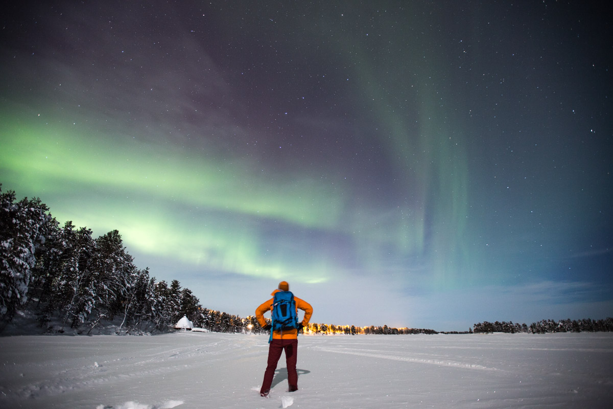 Northern Lights Pete Heck in Finland