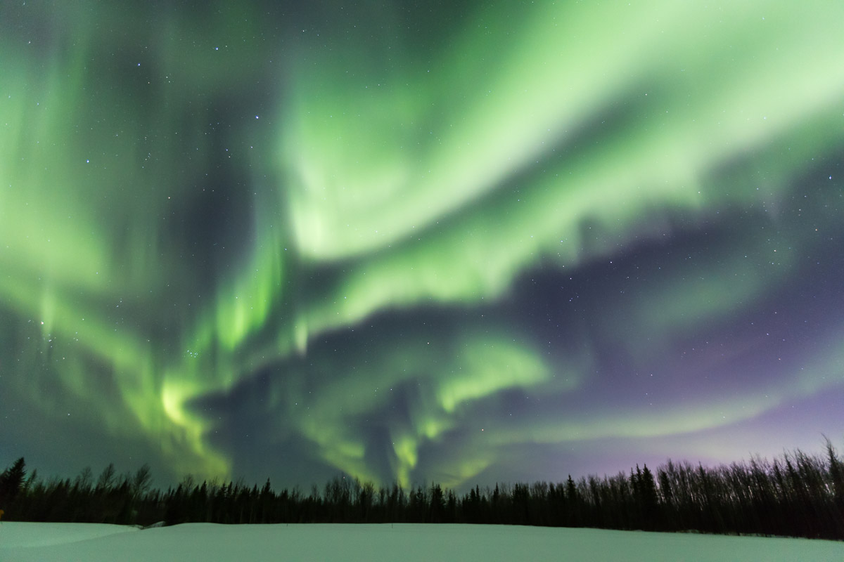 Northern Lights Tour Fort McMurray Alberta 3
