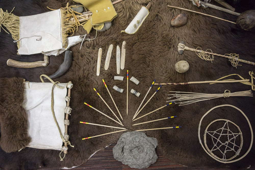 Head Smashed In Buffalo Jump Indigenous artifacts