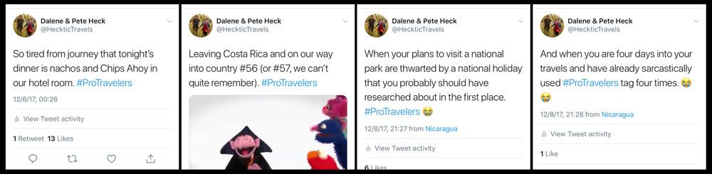 Pro-Traveler-Tweets