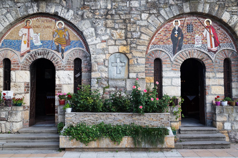 Belgrade Fortress Church Artwork
