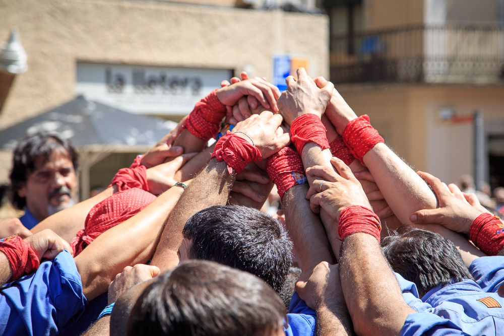 Girona Human Towers Hands