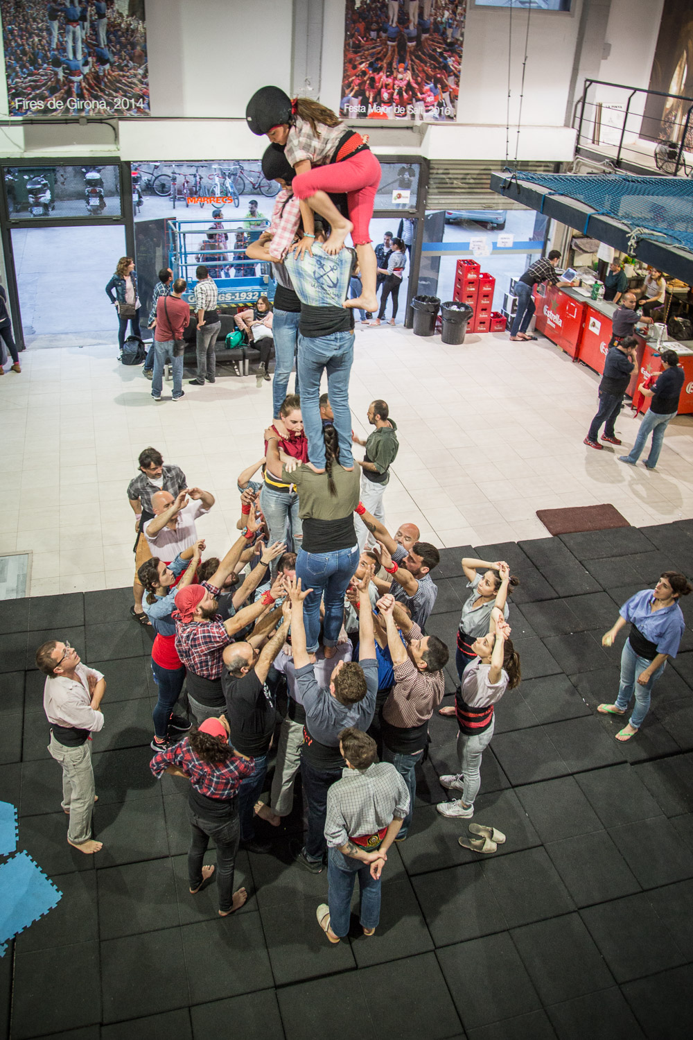 Human Tower Practice