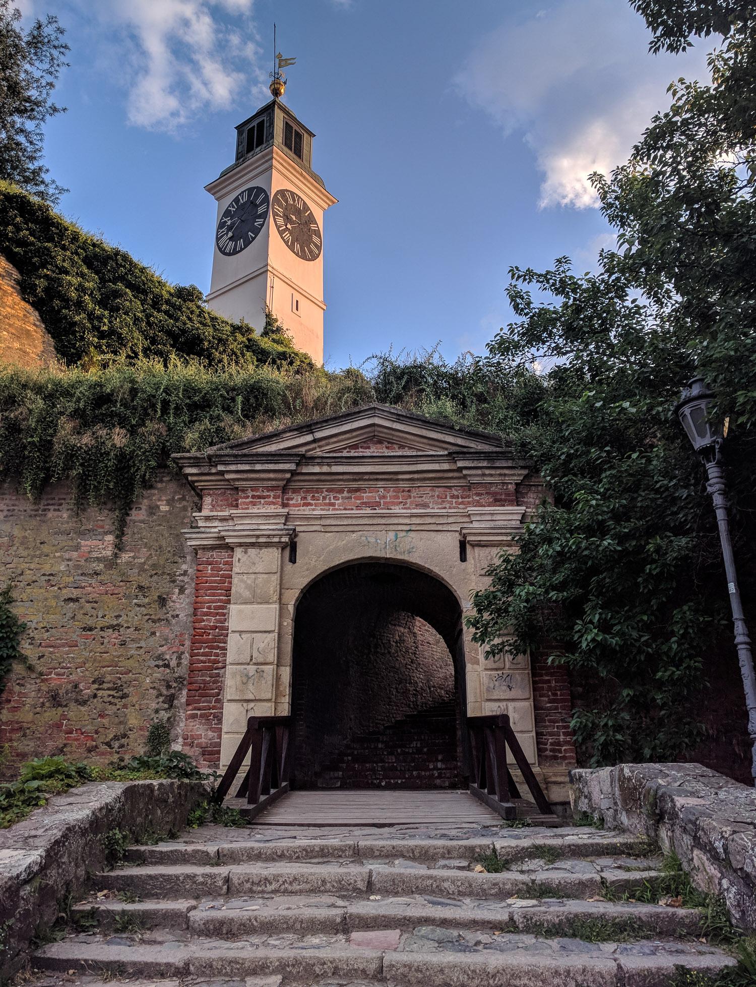 Novi Sad Fortress Path