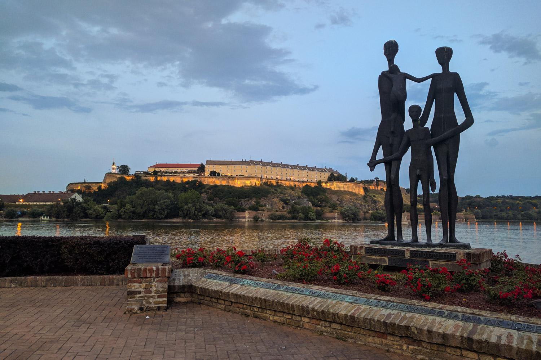 Novi Sad Monument to Lost Civilians