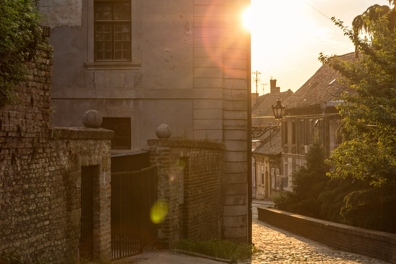 Novi Sad Old Town Streets