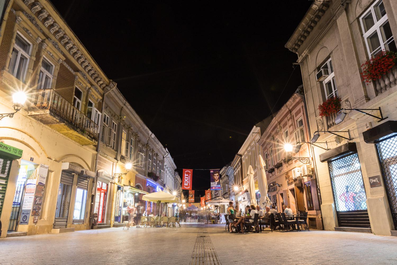 Novi Sad at Night