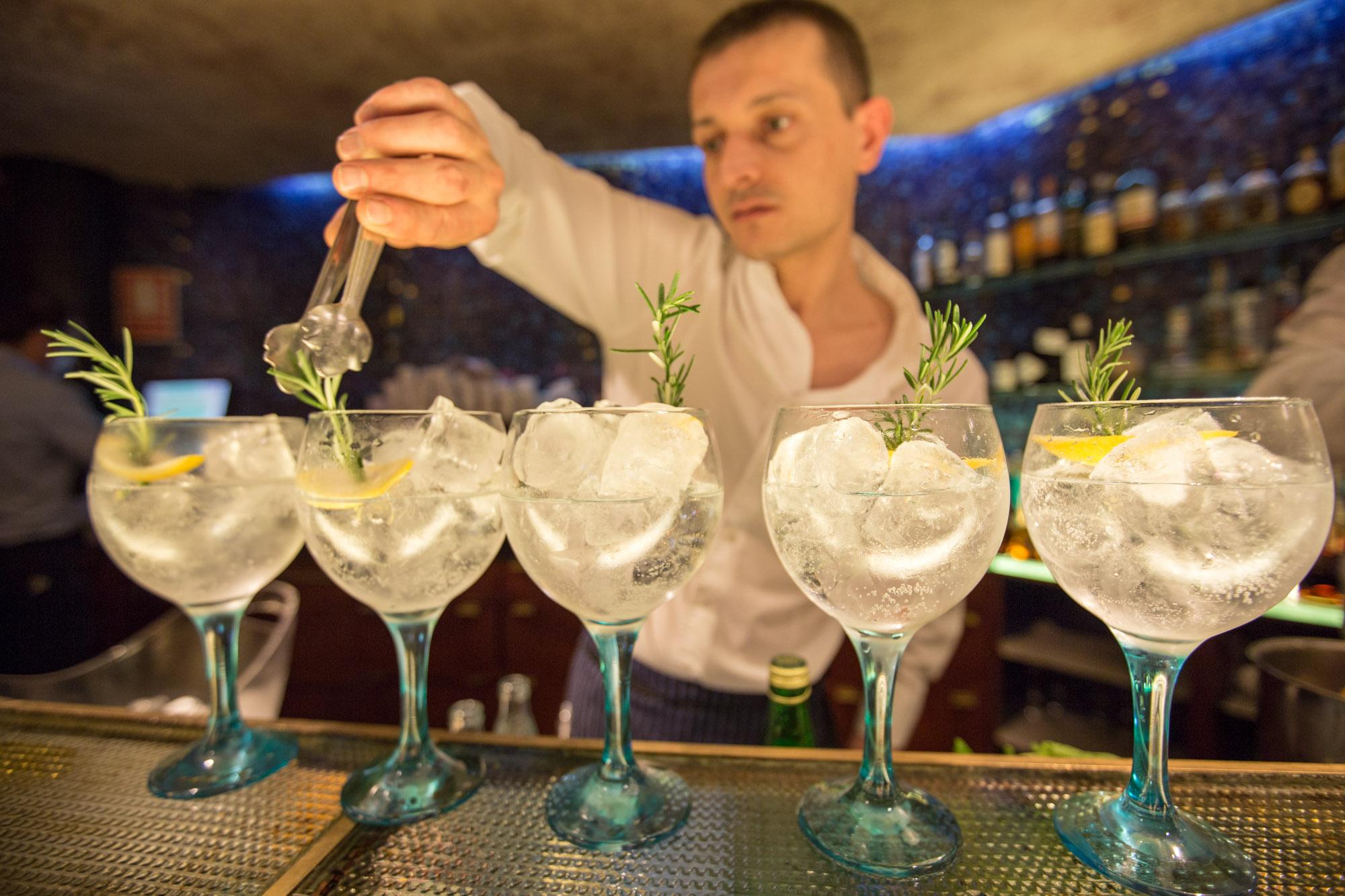 Gin Tonics Indigo Girona