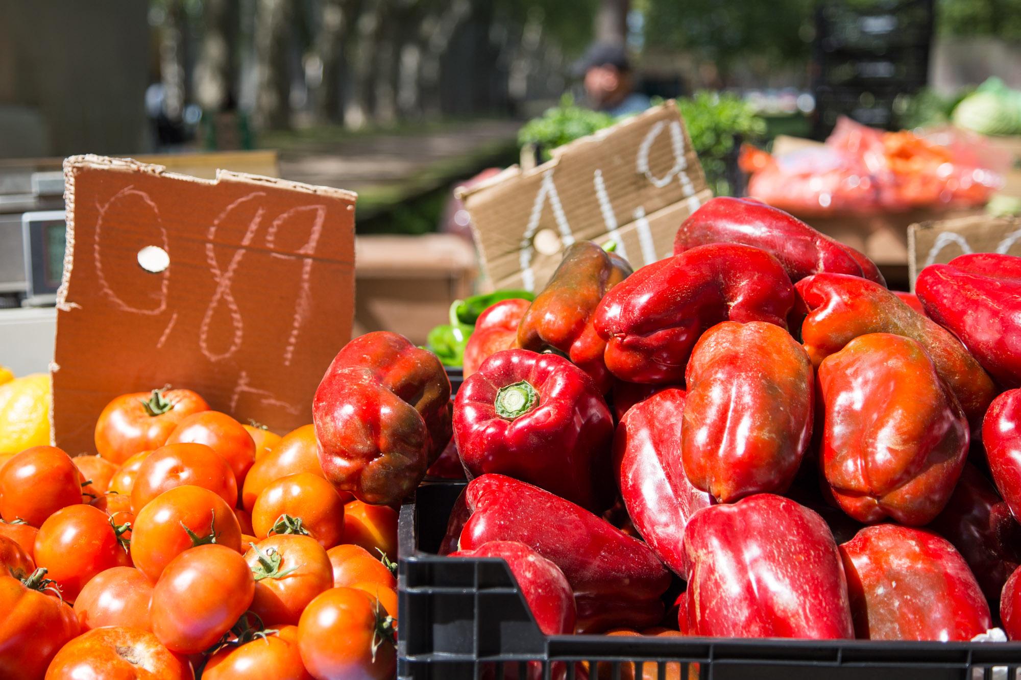 Girona Devesa market