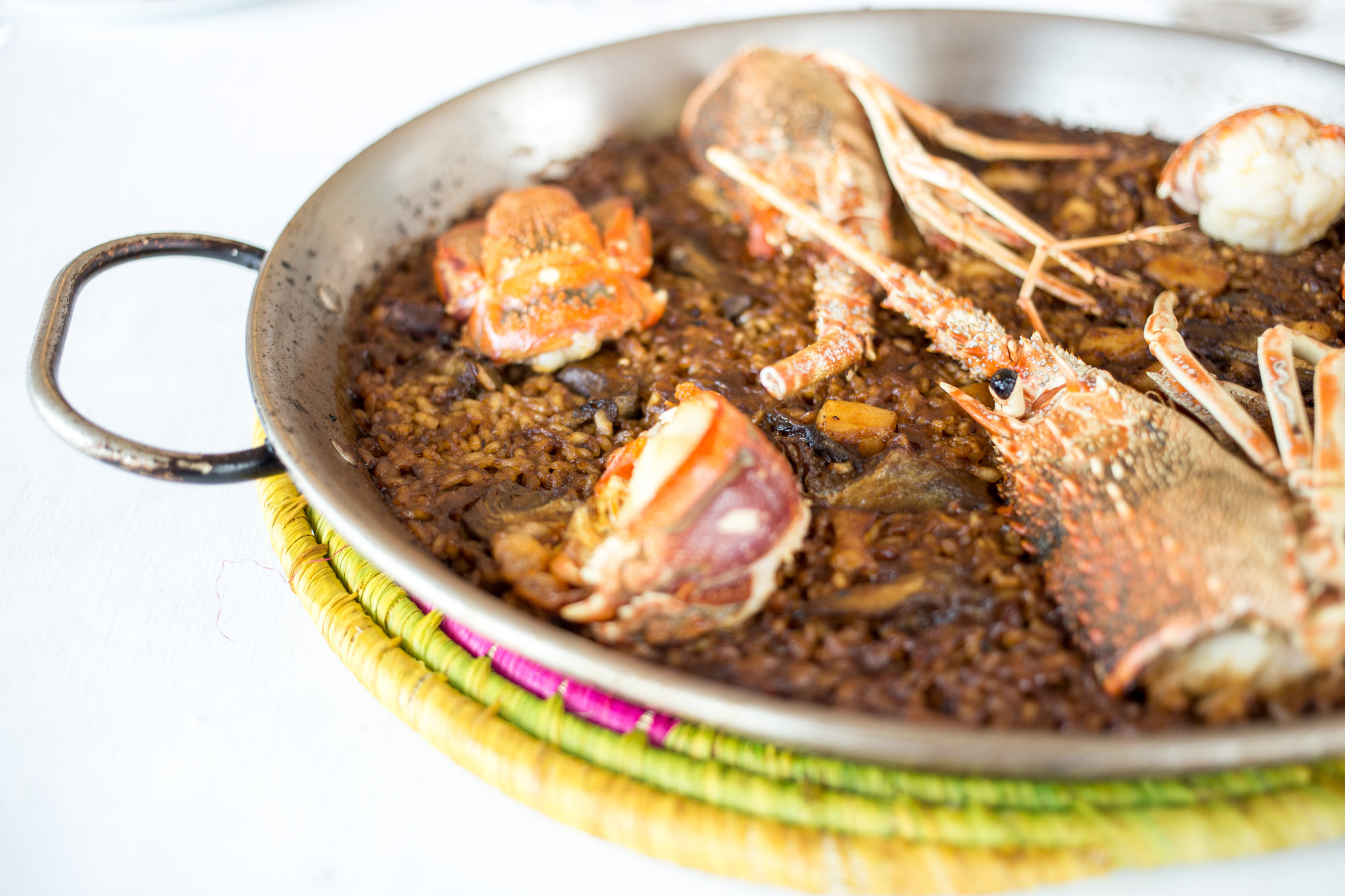 Lobster and Seafood Arroz Els Pescadors