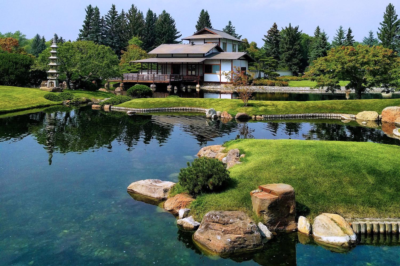 Nikka Yuko Japanese Gardens Lethbridge