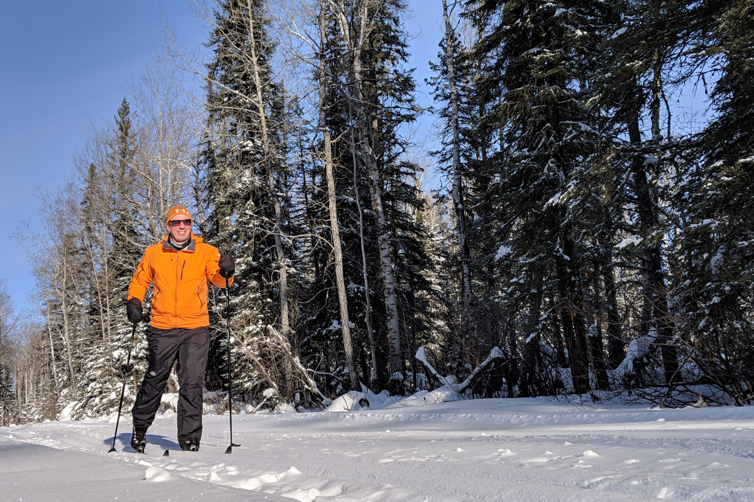 Cross Country Skiing Prince Albert National Park - Pete