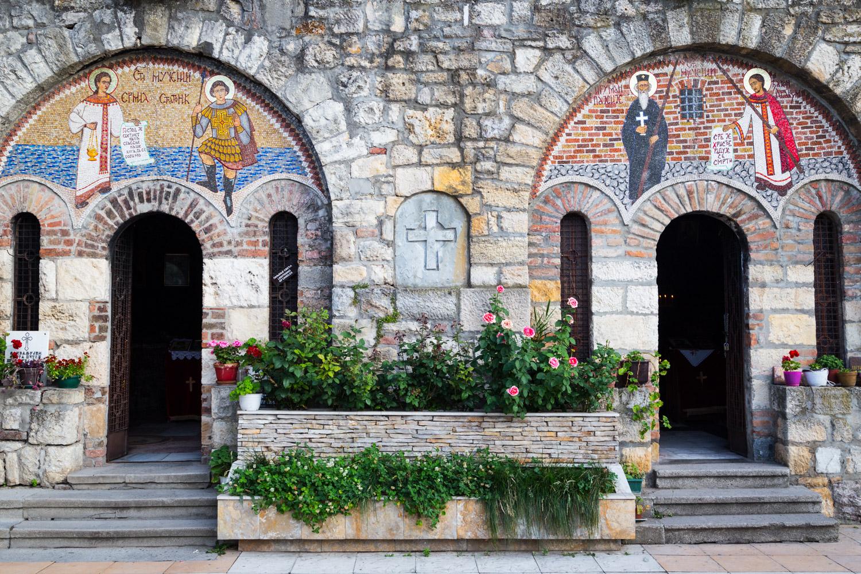 Belgarde Serbia Church Doors