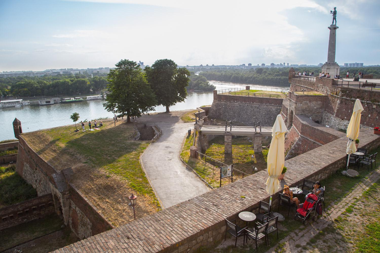 Belgrade Serbia Fortress Lookout