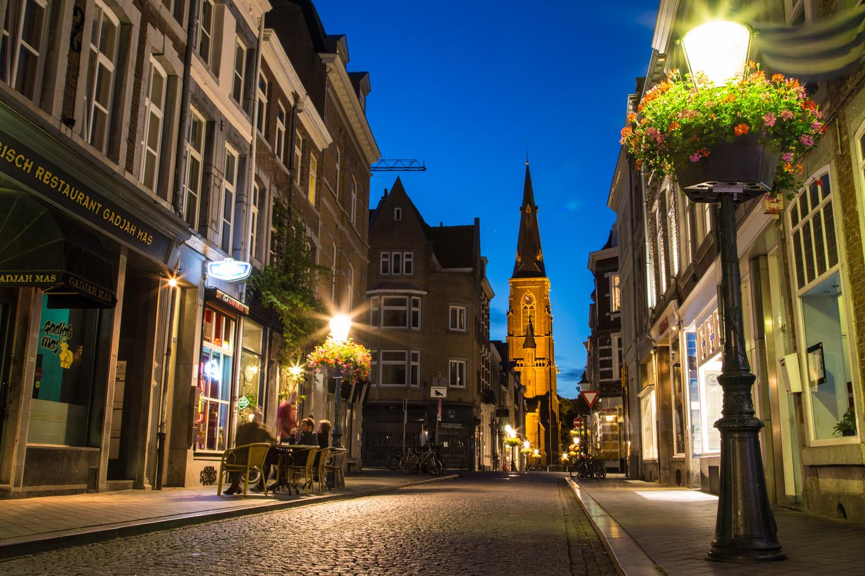 Maastrict Netherlands Street Scene