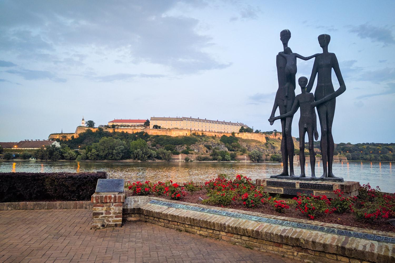 Novi Sad Monument to the Raid Victims