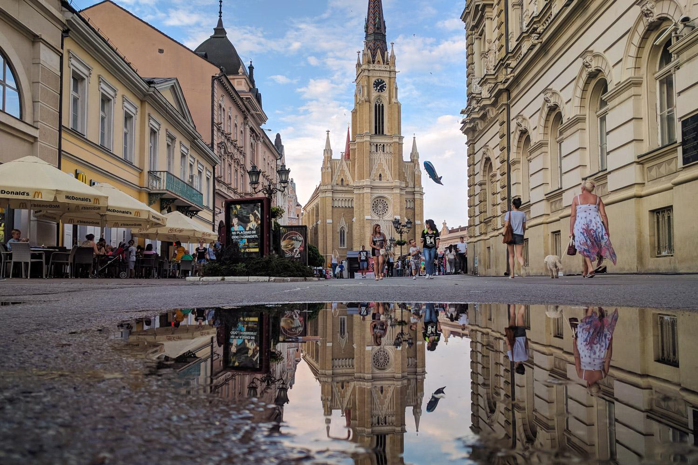 Novi Sad Serbia Old Town