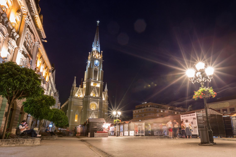 Novi Sad Serbia Town Square