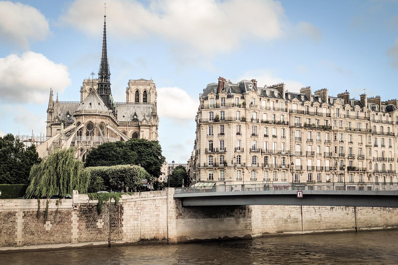 Paris France Notre Dame