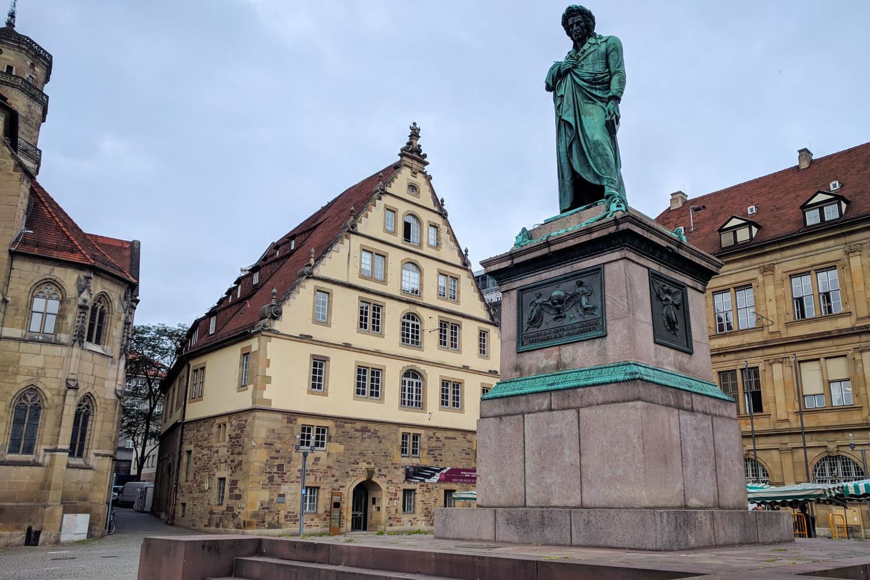 Stuttgart Germany Old Town