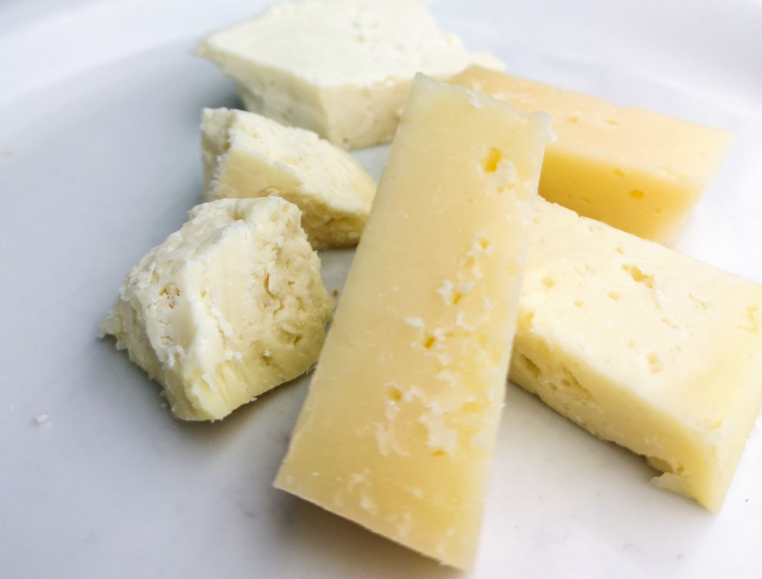 A variety of cheese from Naxos