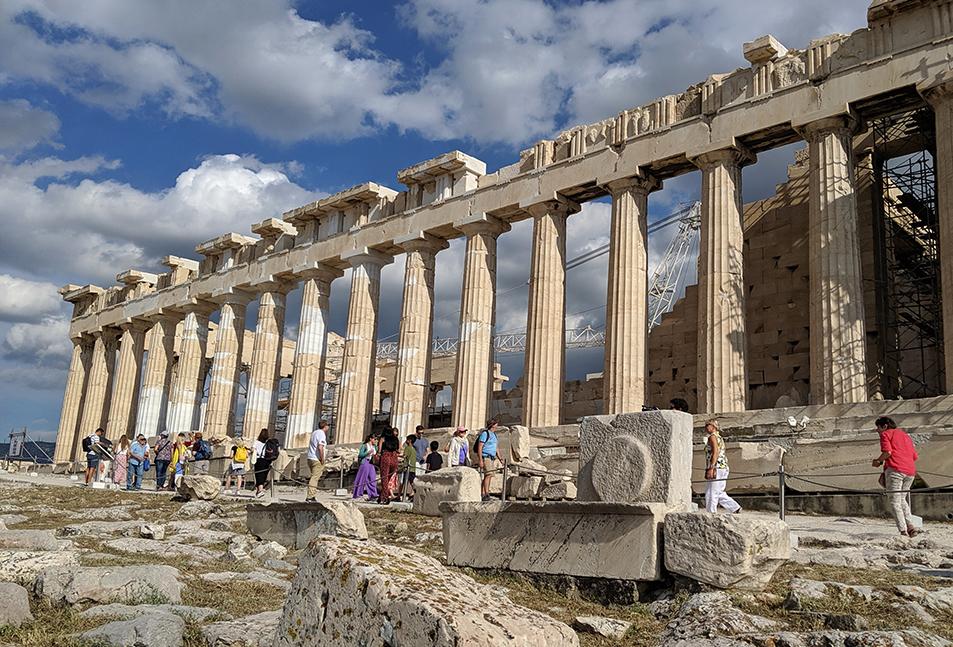 Pathenon Athens Greece